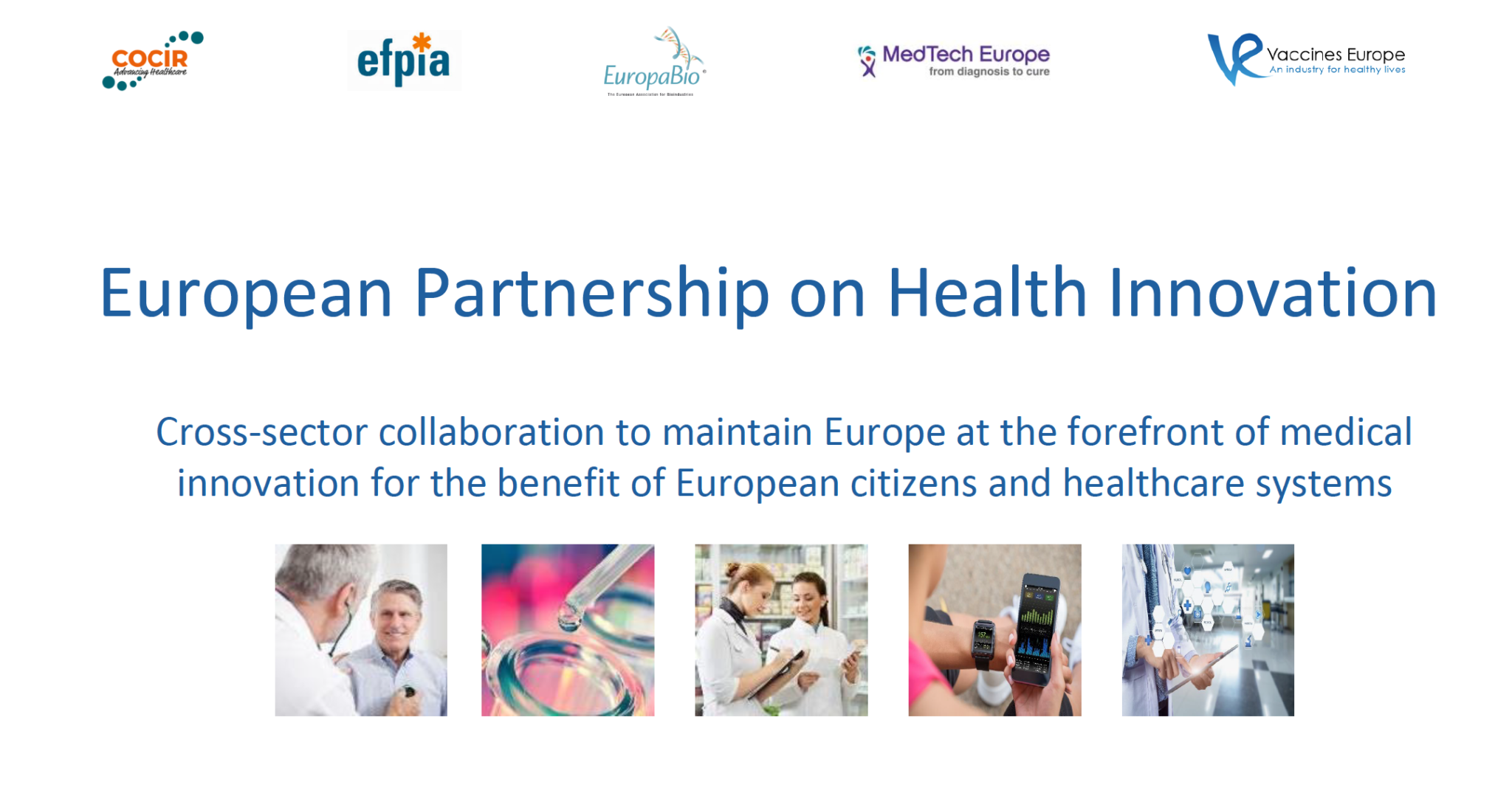 Contribute to the public consultation about the EUHealthPPP before Nov. 24, 2019