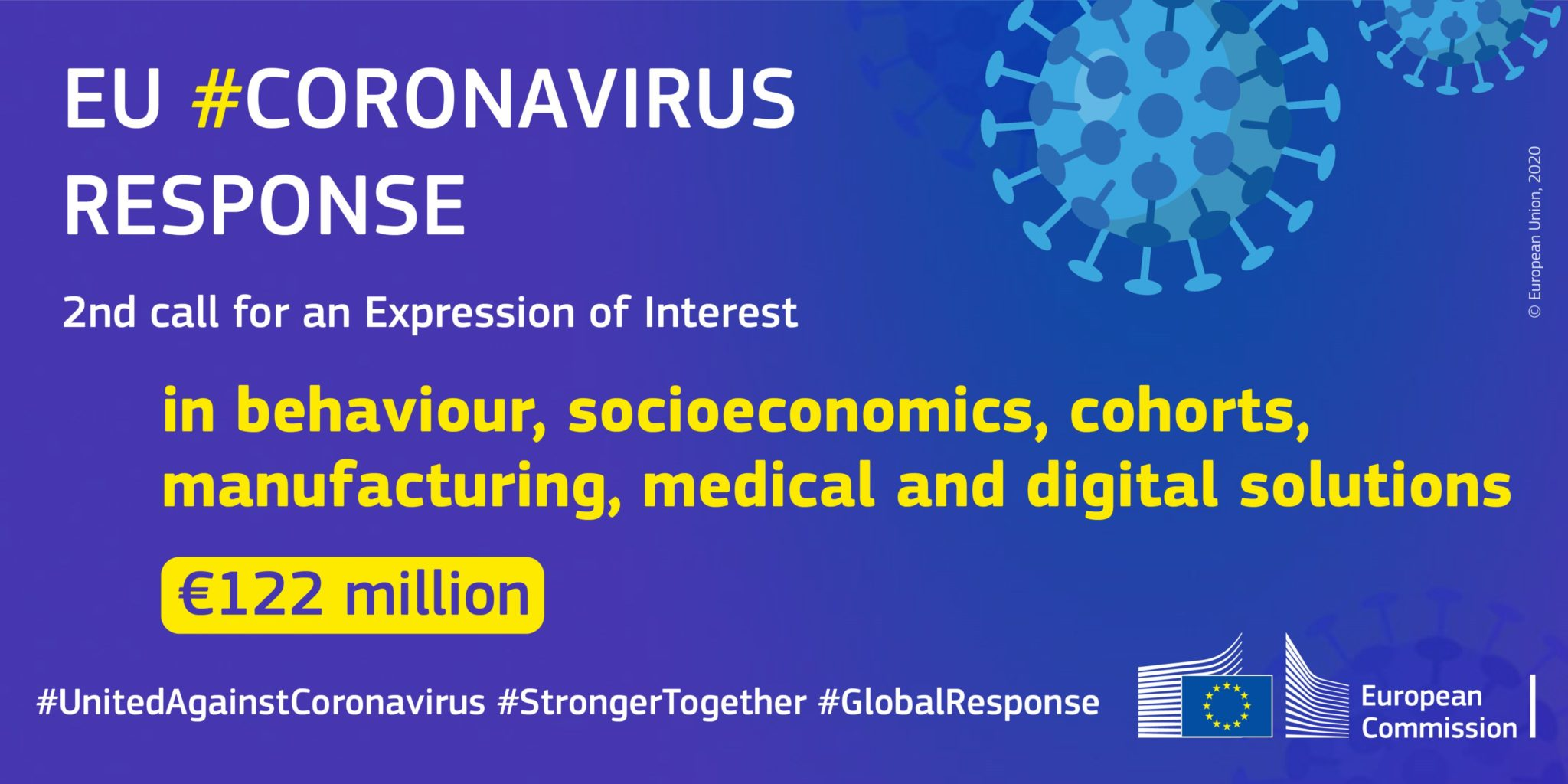 European Commission 2nd call for Expression of Interest Coronavirus COVID19